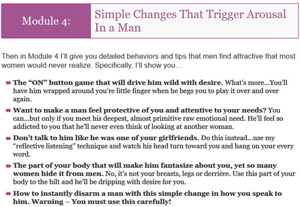 Simple Changes That Trigger Arousal In a Man