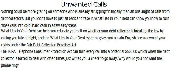 Unwanted Calls