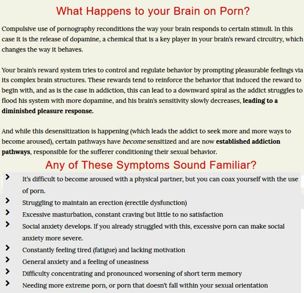 What Happens to your Brain on Porn