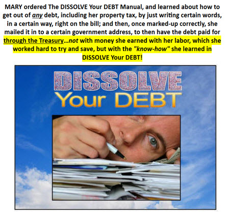 learned in DISSOLVE Your DEBT