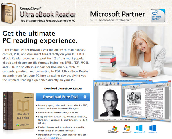 Compuclever Ultra Ebook Reader