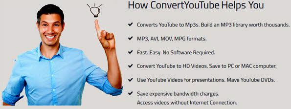 Convert YouTube to HD Videos