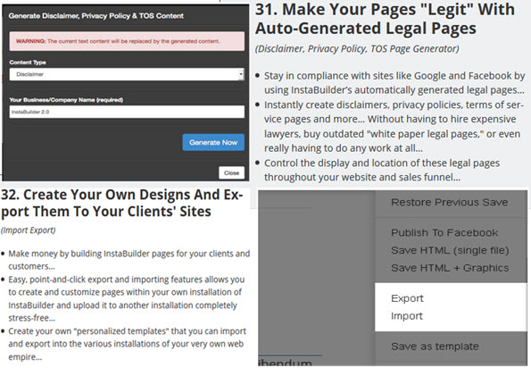 Create Your Own Designs And Export Them To Your Clients' Sites