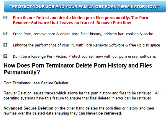 Delete Porn Files