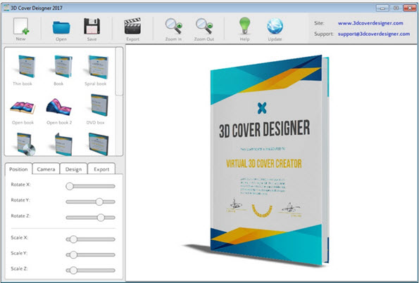 Design an eye-catching cover easily