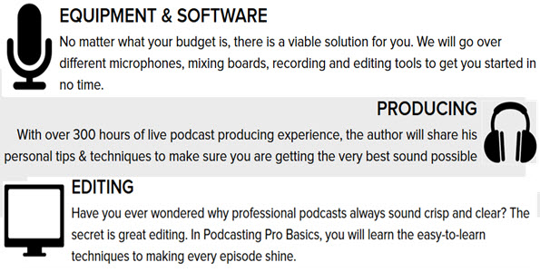 Version of Podcasting Pro Basics
