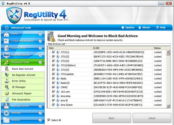 Restore, Fix, Clean Up Your Registry Files and Errors in Windows