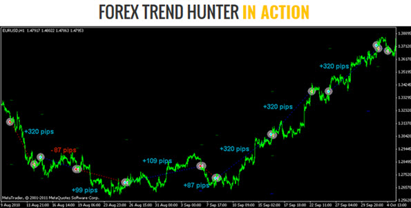 Forex Trend Hunter in Action