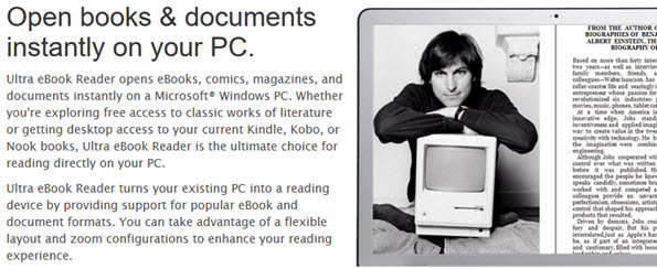 Open books & documents instantly on your PC
