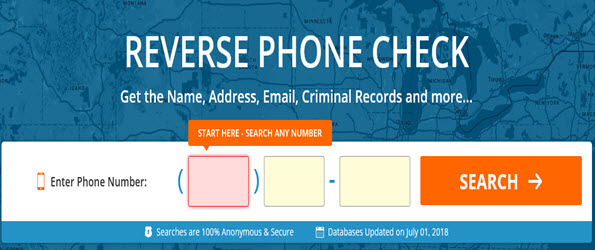 Reverse Phone Check Free Website