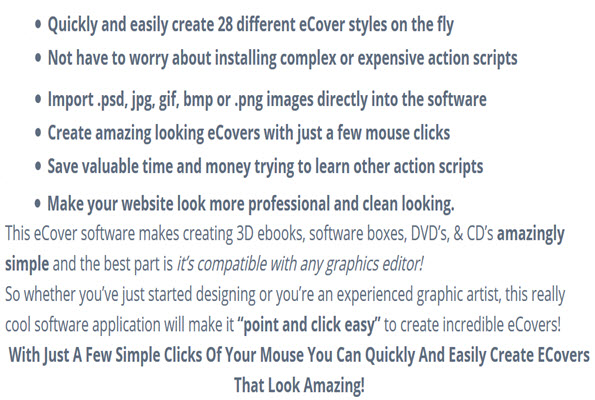 create 28 different eCover styles