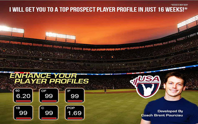 Baseball - Develop A Top Prospect Player Profile - 2x Velocity