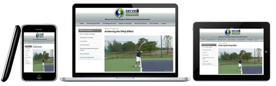 Tennis Serve Video Instructional Course