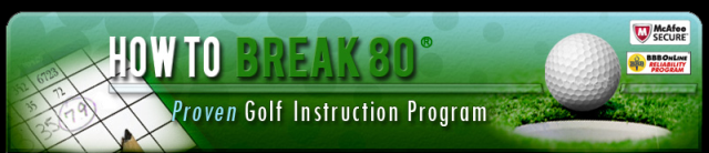 HOW TO BREAK 80-Proven Golf Instruction Program